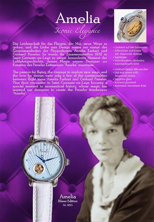 Erste Damenuhr aus dem Haus Fieseler Zeitmesser