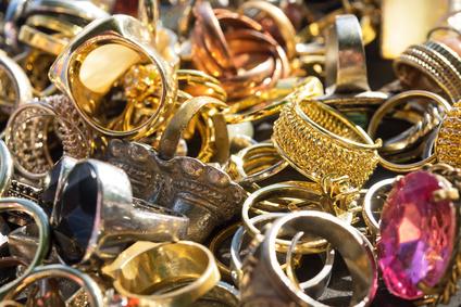 Verkauf und Ankauf vom Goldschmuck