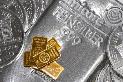 Silberbarren Silber verkaufen